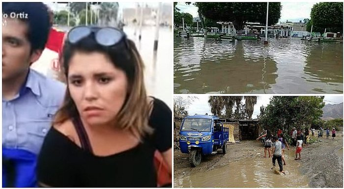 Lady Guillén da lamentable noticia luego de que huaico arrasara con Huarmey (VIDEO)