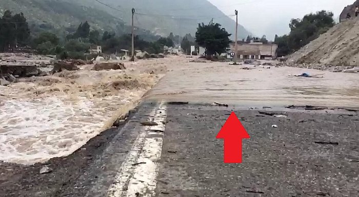 Carretera Central: río Rímac se desborda y deja este terrible panorama en Huarochirí (VIDEO)
