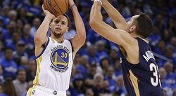 NBA: Genial Stephen Curry lleva a los Warriors a 10 victorias seguidas