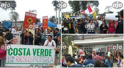 Barranco: vecinos protestan frente a la municipalidad en defensa de la playa Los Yuyos (VIDEO)