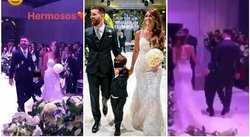 La boda de Messi y Antonella: esto es lo que no se vio de la ceremonia civil (VIDEOS)