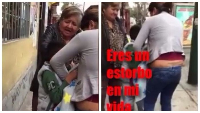 "Facebook: ¡Qué maldad! Madre le dice a su niño que es ""un estorbo en su vida"" (VIDEO)"