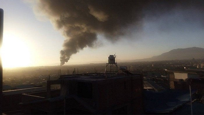 Arequipa: se registra fuerte incendio en zona industrial (VIDEO)