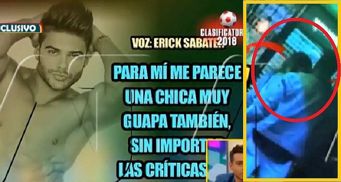 Erick Sabater: ¡Agárrate Michelle Soifer! Es visto juntito a exchica reality (VIDEO)