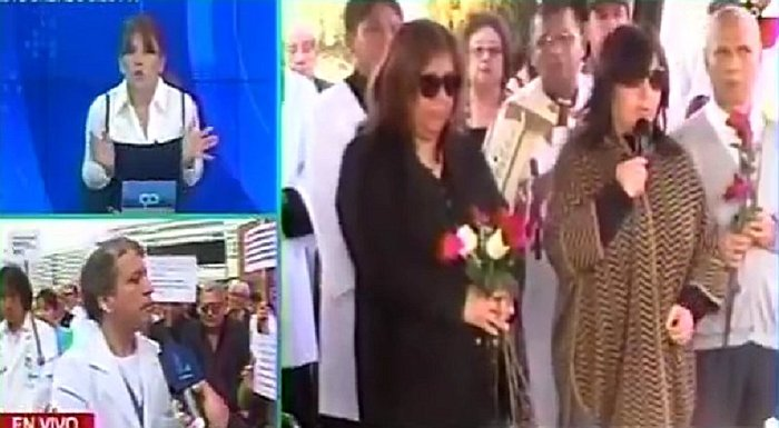 Magaly Medina y jefe de guardia del Rebagliati se enfrentan en enlace en vivo (VIDEO)