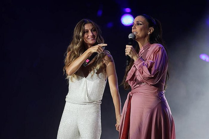 "​Rock in Río: Gisele Bundchen e Ivete Sangalo cantan ""Imagine"" de John Lennon (VIDEO)"