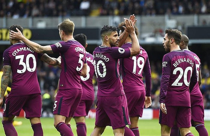 ​Premier League: City aplasta 0-6 al Watford de peruano Carrillo (VIDEO)