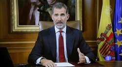 ​Cataluña: Claman por independencia y repudian al rey Felipe VI por ignorarlos