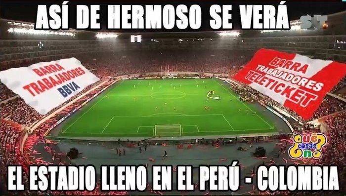 Perú vs. Colombia: los divertidos memes de partido final de la selección (FOTOS y VIDEO)