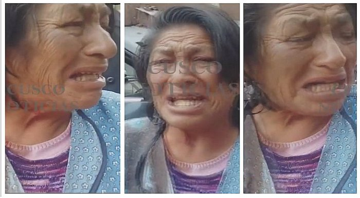 Denuncian agresión de ancianita por parte de serenos en Cusco (VIDEO)