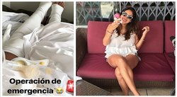 Melissa Paredes es operada de emergencia (FOTOS Y VIDEO)