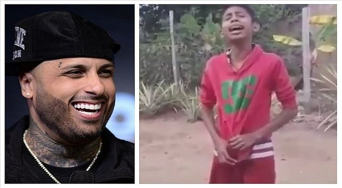 Niño venezolano cautiva con su voz a reguetonero Nicky Jam (VIDEO)