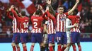 ​Atlético de Madrid derrota 2-0 al Athletic y sigue pasos al Barcelona