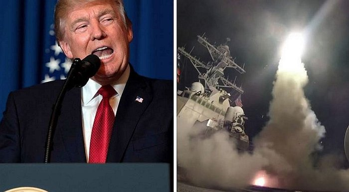 EE.UU.: Donald Trump anuncia ataque militar contra Siria (VIDEO)