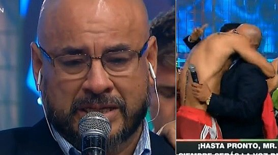 Combate: Mr Peet se despide del reality y se quiebra en vivo (VIDEO)