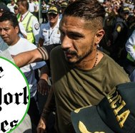 "Paolo Guerrero conversó en exclusiva con The New York Times: ""Soy un luchador"""