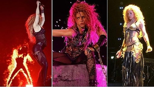 Shakira regresa a los escenarios con espectacular movimiento de caderas (FOTOS Y VIDEOS)