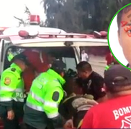Conductor se queda dormido y atropella a madre e hijita en la Panamericana Norte (VIDEO)
