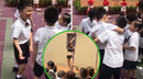 Kinder inicia periodo escolar con una stripper (VIDEO)