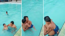 """Extraña y escalofriante mano"" intenta 'ahogar' a niño dentro de piscina (VIDEO)"