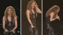 Shakira llora en último concierto de su gira El Dorado world tour (VIDEO)