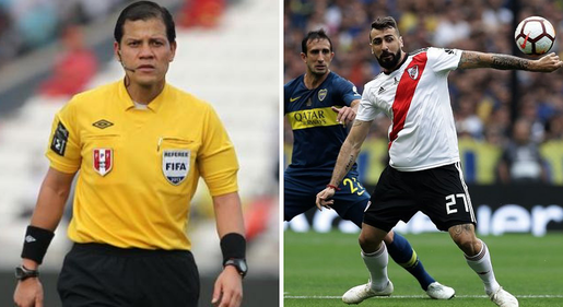 Víctor Hugo Carrillo es confirmado árbitro de la gran final River vs. Boca