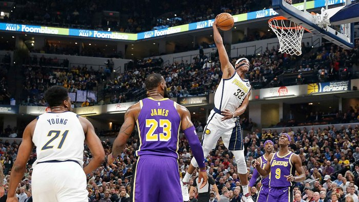 ​NBA: Pacers vencen a Lakers y humillan a James con aplastante derrota