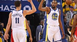 ​NBA: Warriors renovará a lesionados Kevin Durant y Klay Thompson