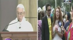 ​Un peruano y una colombiana buscan que el papa Francisco los case (VIDEO)