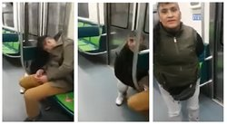 Ratera finge demencia al ser 'ampayada' robando en pleno metro (VIDEO)