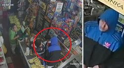Escolar es golpeado y asaltado por ratero dentro de bodega (VIDEO)