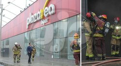 Incendio se registra en supermercado en Miraflores (FOTOS Y VIDEO)