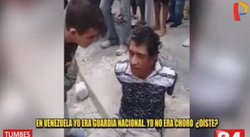 Extranjero captura y reprende a ladrón que intentó robarle en Tumbes (VIDEO)