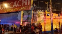 ​Incendio se registró en el mercado Unicachi de Comas (FOTOS y VIDEOS)