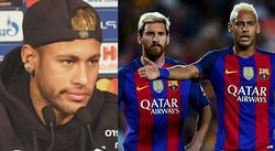 "Neymar se cansa: ""No quiero comparaciones con Messi"" (VÍDEO)"