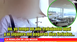 Mozos denuncian que exclusivos restaurantes de Lima les quitan su propina (VIDEO)