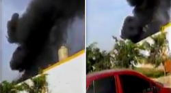 Se registra incendio en El Agustino (VIDEO)