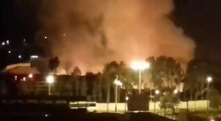 ​La Molina: se registra voraz incendio en Estadio Municipal (VIDEO)